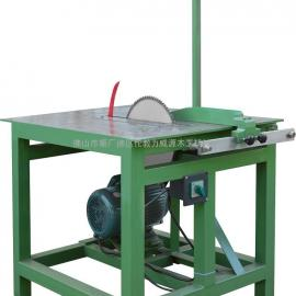 【厂家直销】供应专业品质断料锯 木工机械木材 风车断料锯