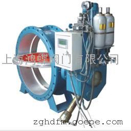 上海鸿蝶HD7X41X 型蓄能器式液控缓闭止回蝶阀