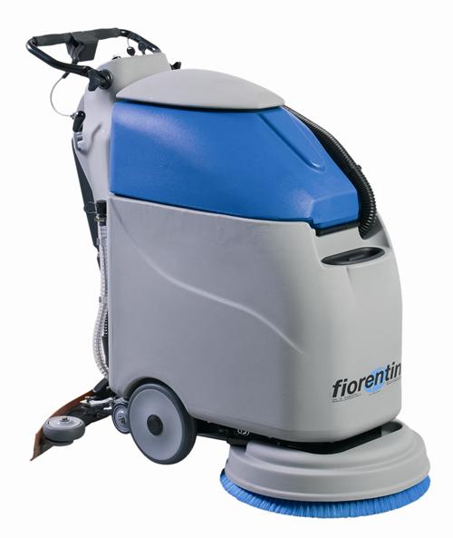 意大利天尼 I18BNEW 电瓶手推全自动洗地机