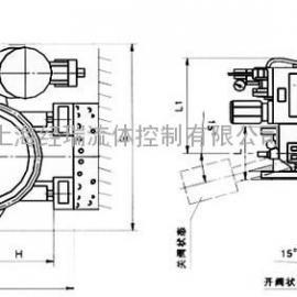 D741自动保压液控缓闭止回蝶阀