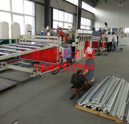 木塑橱柜板生产设备
