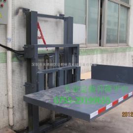 1-3楼的深圳导轨式升降机