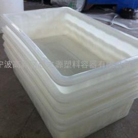 贵州塑料方箱1500L遵义食品级PE方桶