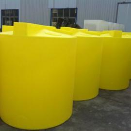 环保工程 PE搅拌罐防腐耐高温6000L