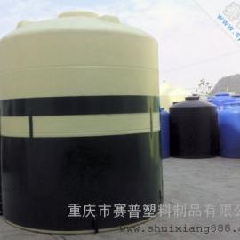 重庆10吨甲醇桶 10方耐酸碱储罐 耐酸碱塑料桶生产厂家