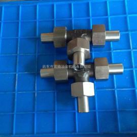 启东宏南生产各种卡套管接头 三通管接头