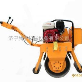 超级好用的手扶振动单轮汽油压路机