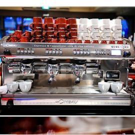 金佰利M39三头商用咖啡机  意大利金佰利半自动咖啡机