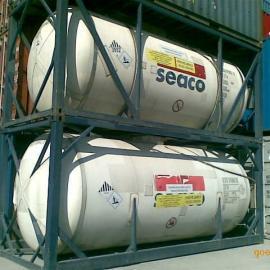 联众20英尺不锈钢二手罐式集装箱