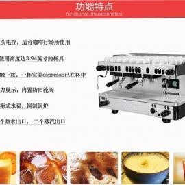 金佰利M29 DT2 双头商用意式半自动咖啡机