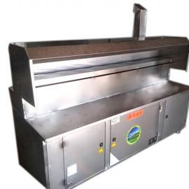 平顶山油烟净化器厂家,无烟烧烤车供货商