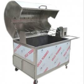 全自动不锈钢木炭烤全羊炉