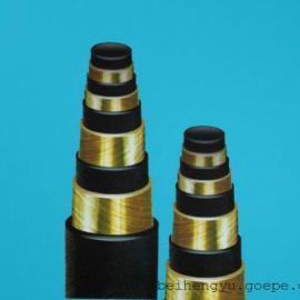 河北恒宇橡胶 供应 钢丝缠绕胶管 高压钢丝缠绕胶管