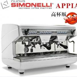 进口商用咖啡机 意大利NUOVA诺瓦双头咖啡机  高杯版