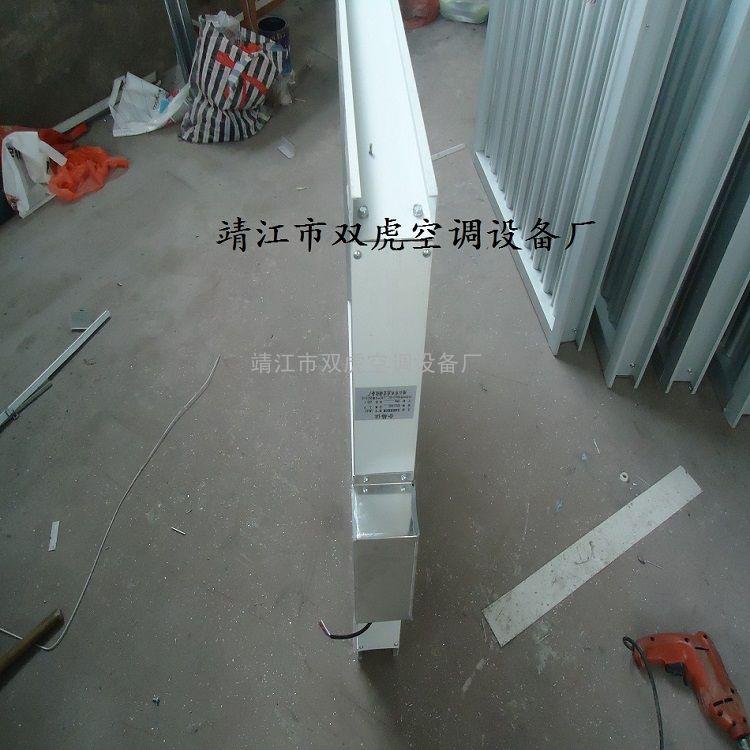 单层90系列电动防雨百叶窗、铝合金电动防雨百叶窗