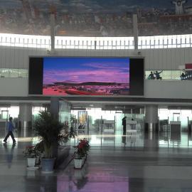 室内超清P3全彩LED显示屏价格,像素高达16万点每平米