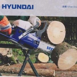 韩国现代进口伐木油锯X960/进口伐木油锯