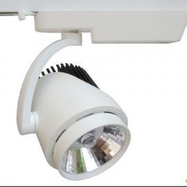 厂家直销LED轨道灯 服装店COB导轨射灯