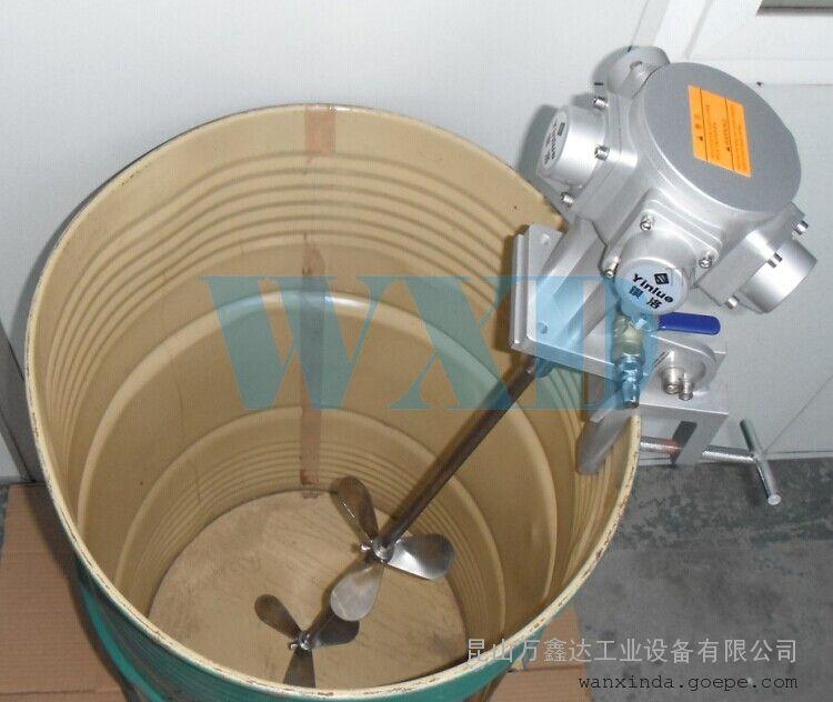 万鑫达js-200lm5200公斤油桶用搅拌机