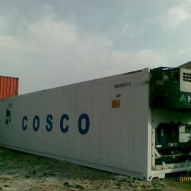 二手冷藏集装箱40RH冷冻货柜租赁