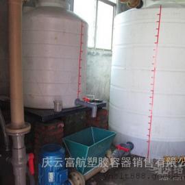 工业用水10吨塑料容器10立方储水桶10吨PE平底水箱加厚
