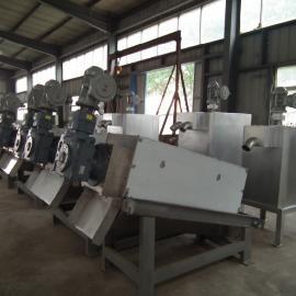 工业泥浆叠螺式污泥脱水机