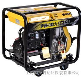 【伊藤5KW低噪音柴油发电机YT6800E】