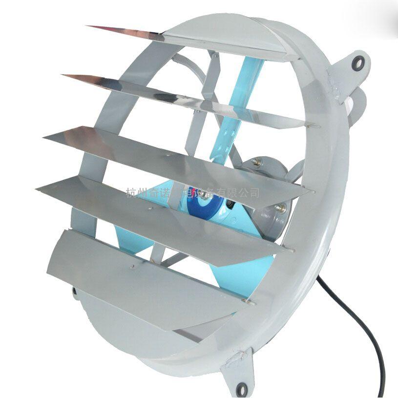 低价FA-600仓库专用600mm耐高温百叶窗圆形通风器