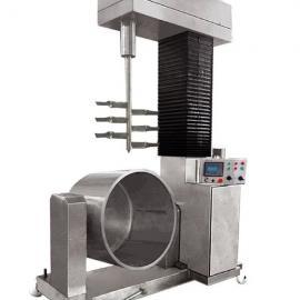 厂家直销肉糜鱼糜液压打浆机批发价格OEM加工出口设备