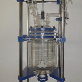 防爆双层玻璃反应釜