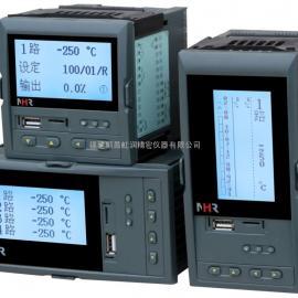 虹润NHR-7400R系列液晶四路PID调节器/调节记录仪
