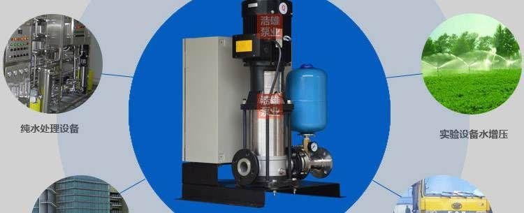 GWS-BS阀门分体式变频图纸-立式全自动变频水泵立式h图片