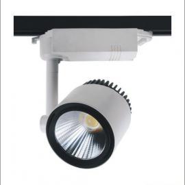 新款热销轨道灯外壳套件 厂家供应LED轨道灯 cob轨道射灯