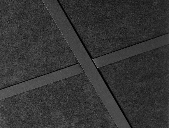 影院专用黑色吸音天花板