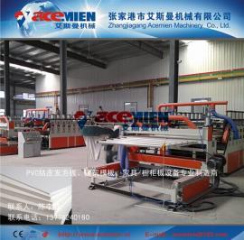 PVC塑料板材设备、PVC包装板机器、PVC木塑板材设备