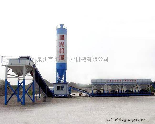 二灰拌合站 二灰碎石拌合站-恒兴机械|稳定土厂拌设备
