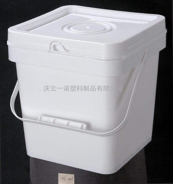 一诺5升pp方桶,5升-005聚丙烯方形塑料桶