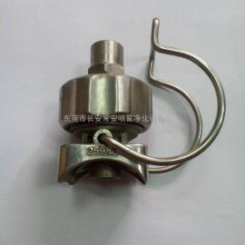 不锈钢可调球型夹扣喷嘴CA26988-BSS CACO品牌可定制