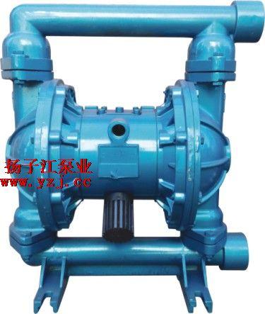 QBY-40铝合金气动隔膜泵四氟球F46膜片