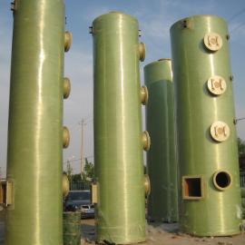 20万风量废气洗涤塔厂家/喷淋塔安装图