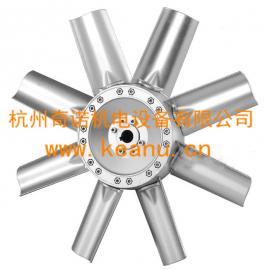 生产供应SFWK-4型八叶片烤箱烘房耐高温方形壁式轴流风机