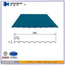 常规颜色彩钢瓦多少钱一平方米?常规型号彩钢瓦价格
