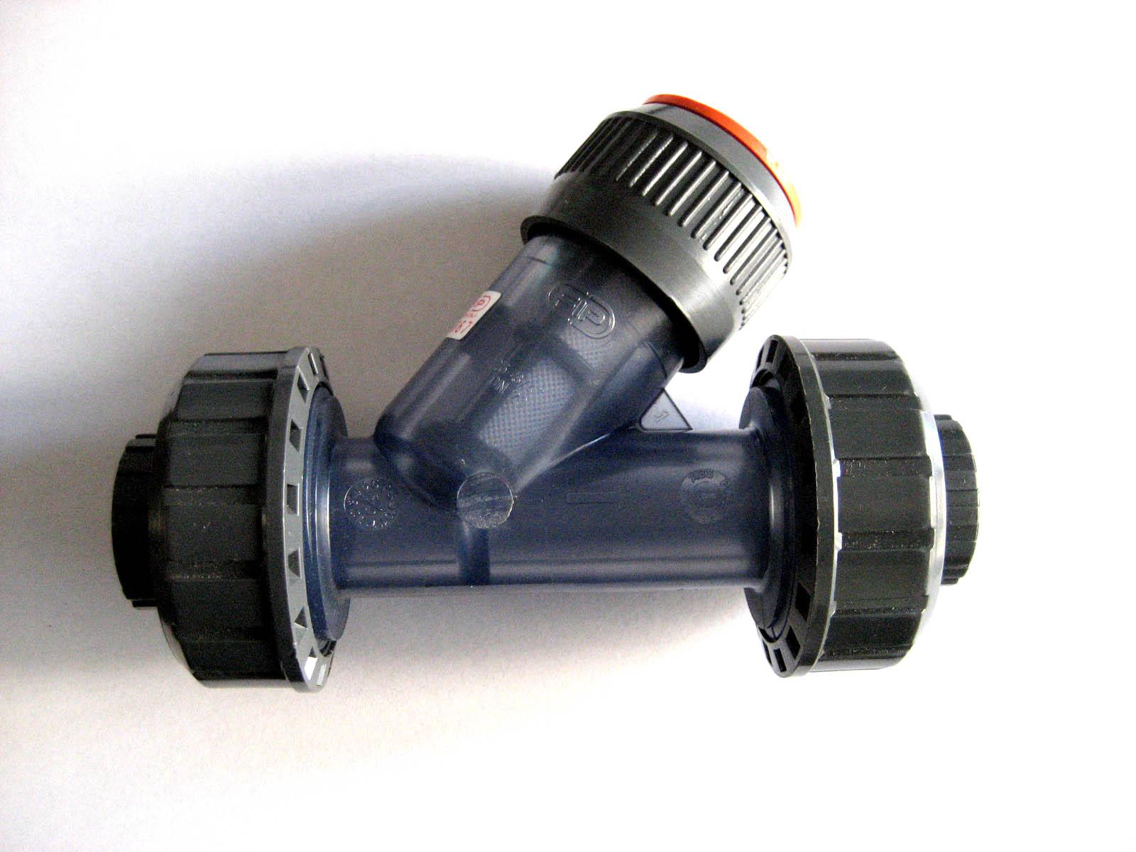 意大利进口Glynwed格林韦德FIP透明DN15Y型过滤器UPVC材质RVUIT系