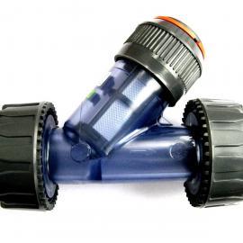 意大利进口Glynwed格林韦德FIP透明DN50Y型过滤器UPVC材质RVUIT系