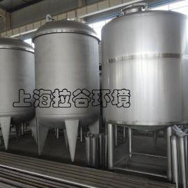 上海拉谷 30m3不锈钢储罐