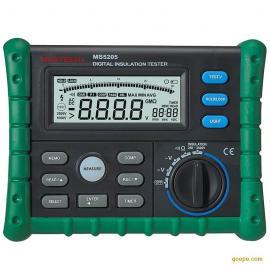 华仪mstech ms5205电阻测试仪MS5205 数字绝缘电阻测试仪