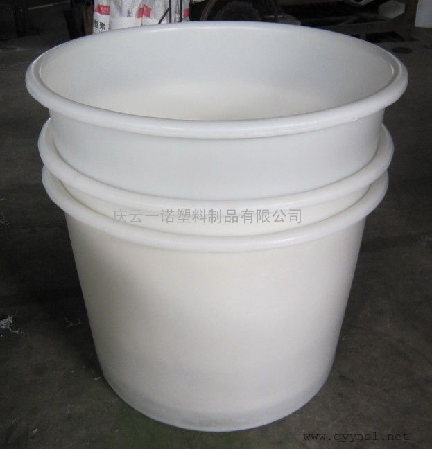 500L圆形腌菜桶腌制装用塑料桶