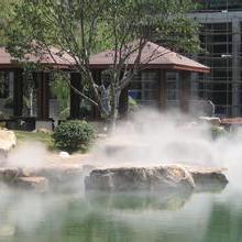 深圳人工造雾,喷雾景观工程,景区雾效,园林雾景,喷泉假山造雾