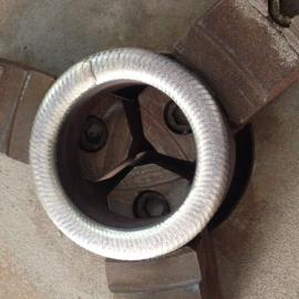 三偏心阀门堆焊
