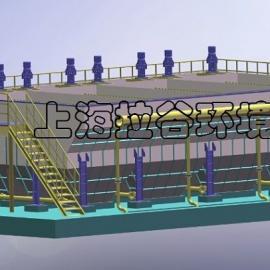 上海拉谷 LXXC100-1000A新型组合斜板沉淀器